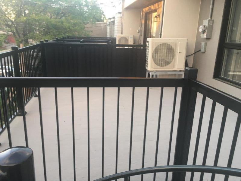 A balcony or terrace at CONDO IN QUIET NEIGHBOURHOOD