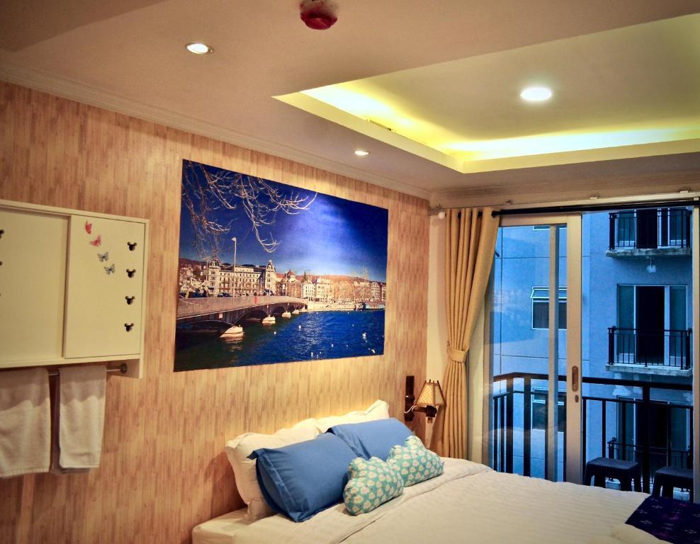 Tampilan interior apartemen Grand Asia Afrika Residence