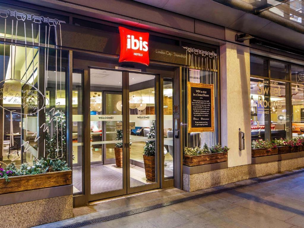 Hotel Ibis London City Shoreditch Uk Bookingcom