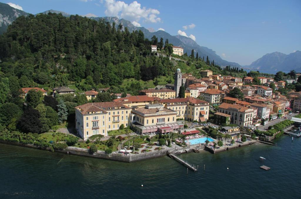 A bird's-eye view of Grand Hotel Villa Serbelloni