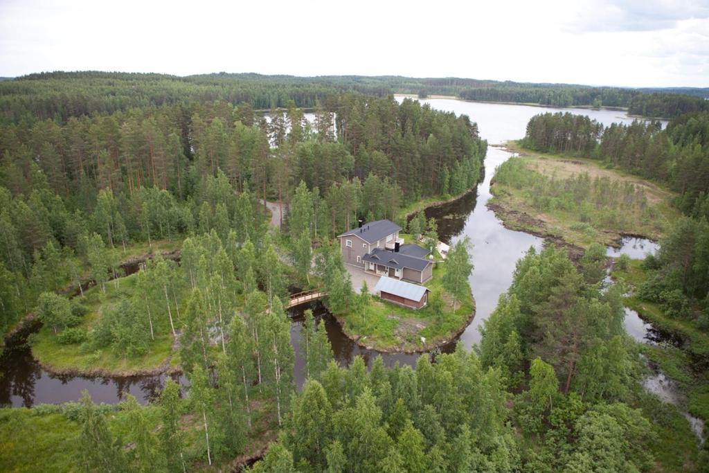 Majoituspaikan Rantakatti Apartments kuva ylhäältä päin