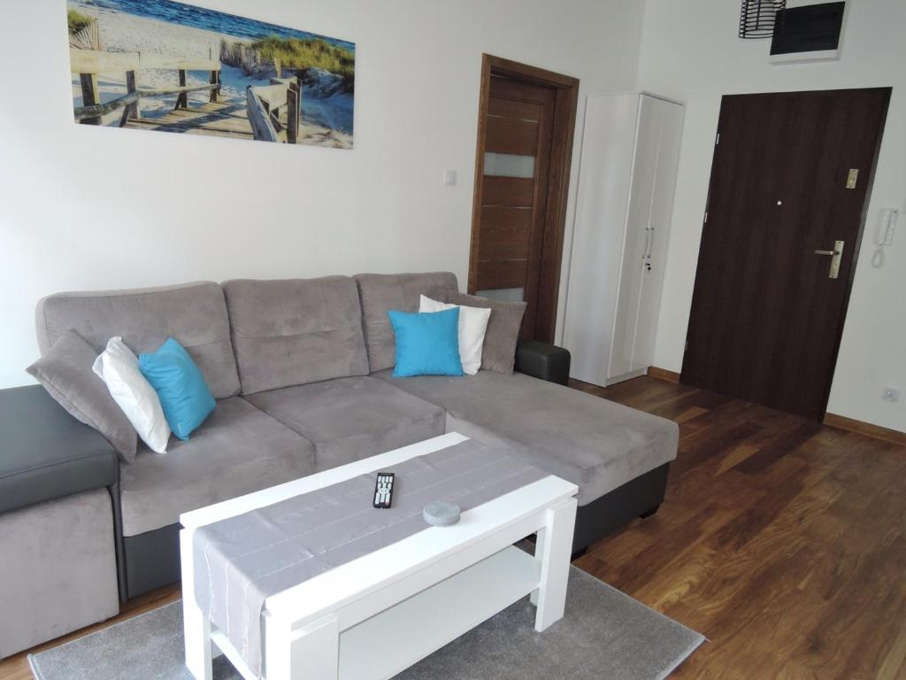 Część wypoczynkowa w obiekcie Apartament Morena