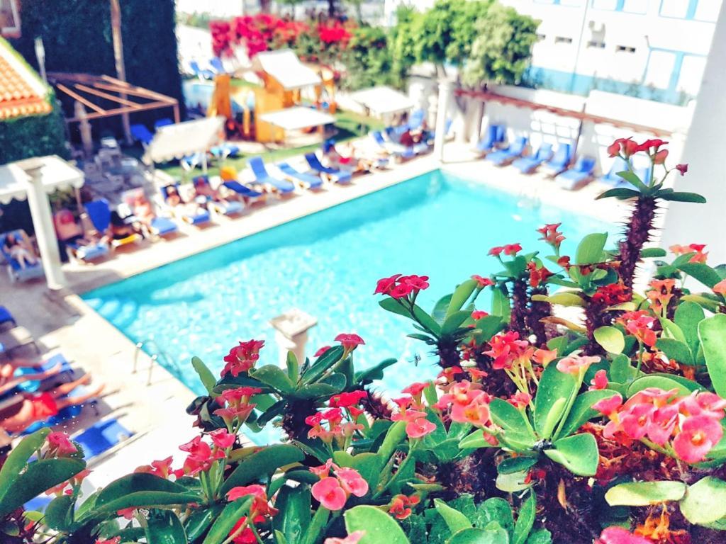 Pogled na bazen u objektu Hotel do Cerro ili u blizini