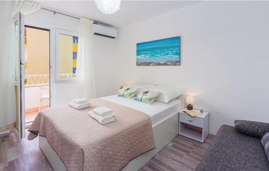 Krevet ili kreveti u jedinici u objektu Apartman Stefanuti Opatija