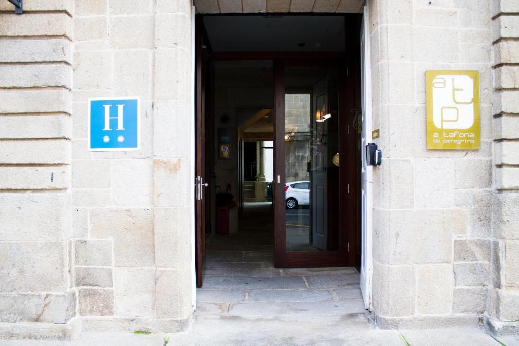 The facade or entrance of Hotel A Tafona do Peregrino