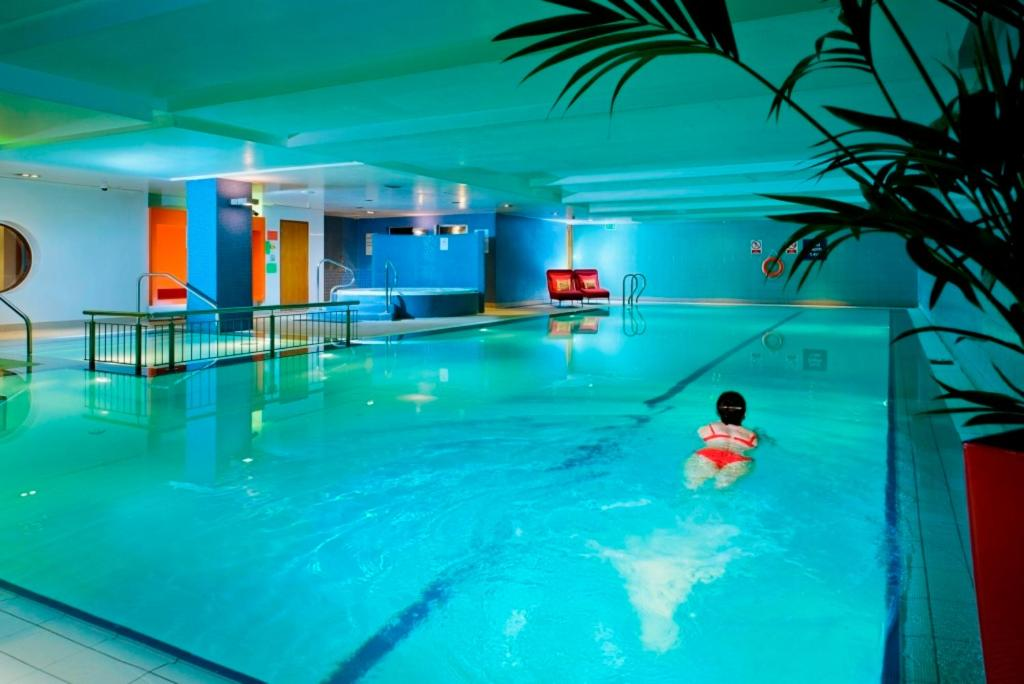 The swimming pool at or near Clayton Hotel Cork City