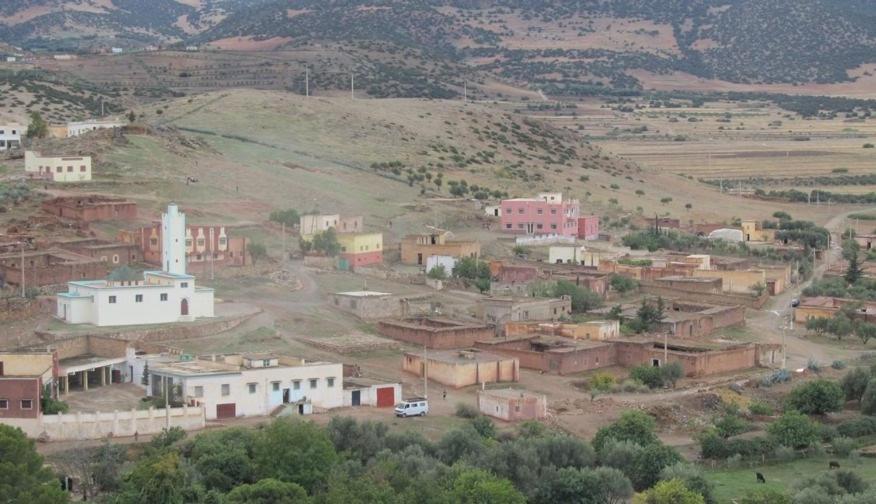 Vue panoramique sur l'établissement Gite chez l'habitant Aghbal