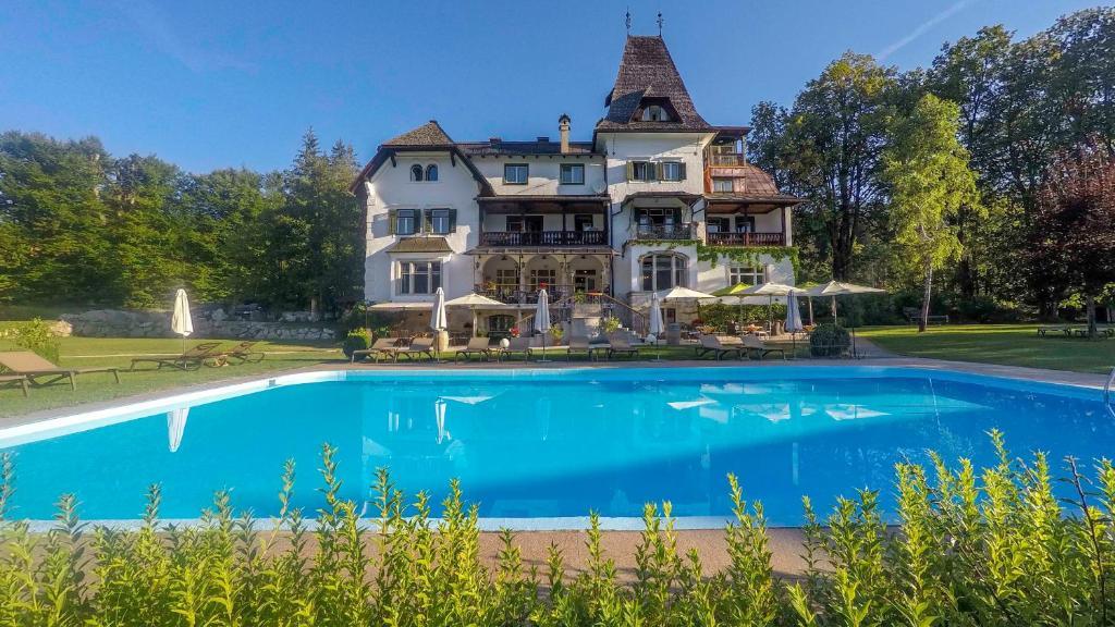The swimming pool at or near Landhaus Koller