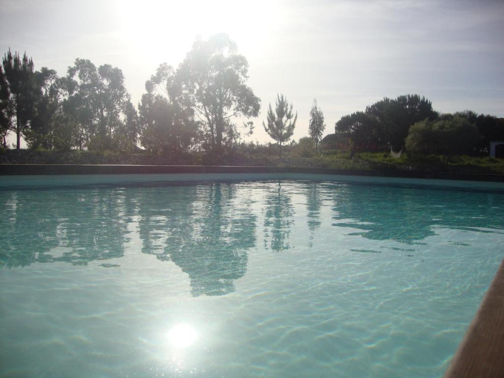 The swimming pool at or near Amor de Crianca