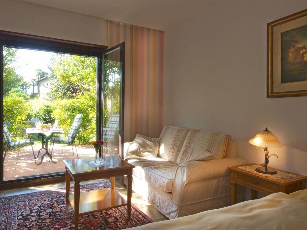 Area soggiorno di Hotel Al Fiume