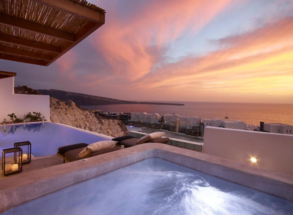 The swimming pool at or near Oia Santo Maris Luxury Suites and Spa