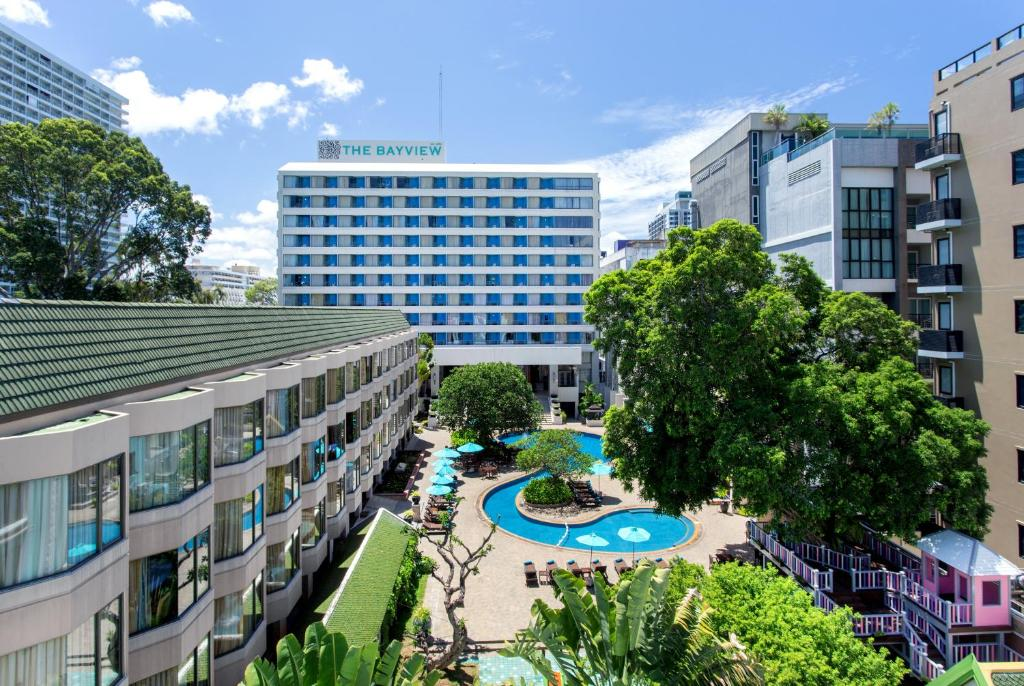 A view of the pool at The Bayview Hotel Pattaya or nearby