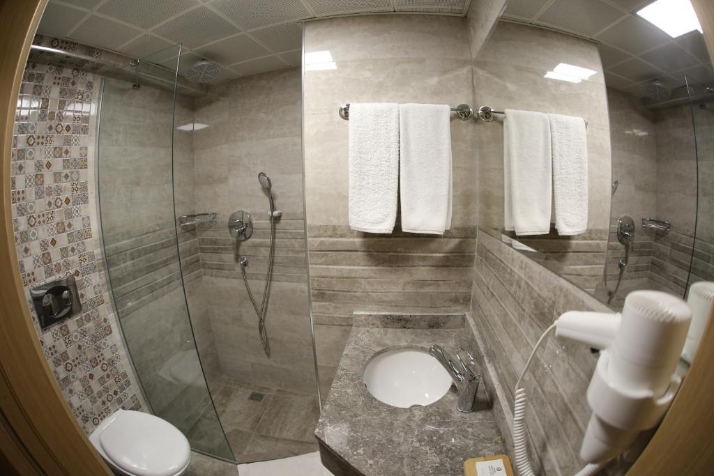 Ванная комната в Sirkeci Ersu Hotel