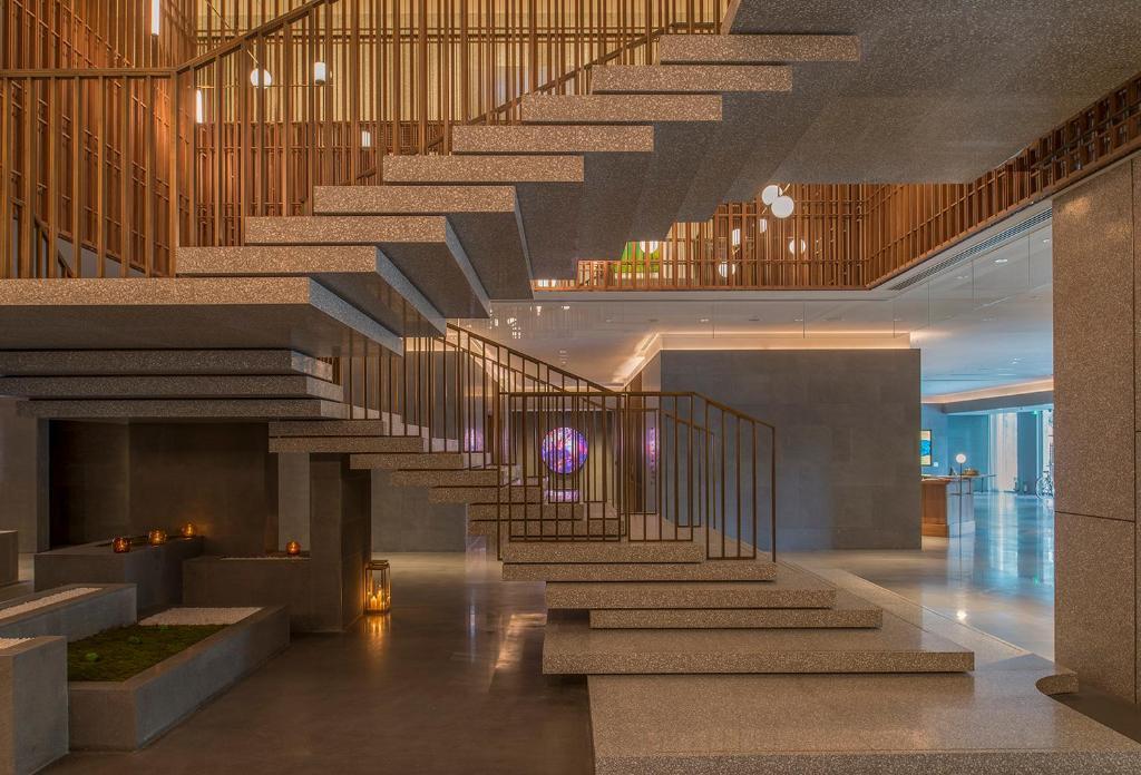 Vestibils vai reģistratūra naktsmītnē The Sukhothai Shanghai
