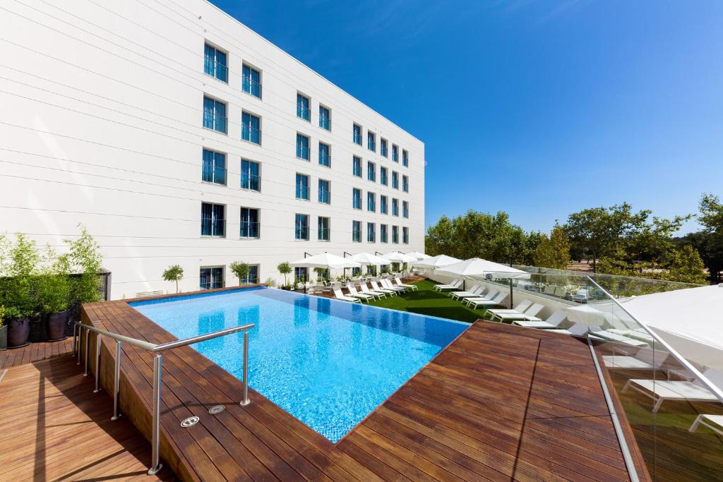 Piscina en o cerca de Lux Fatima Park - Hotel, Suites & Residence