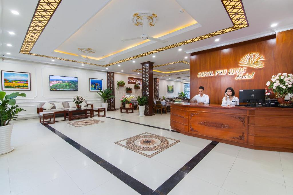 Hall o reception di Coral Phu Quoc Hotel