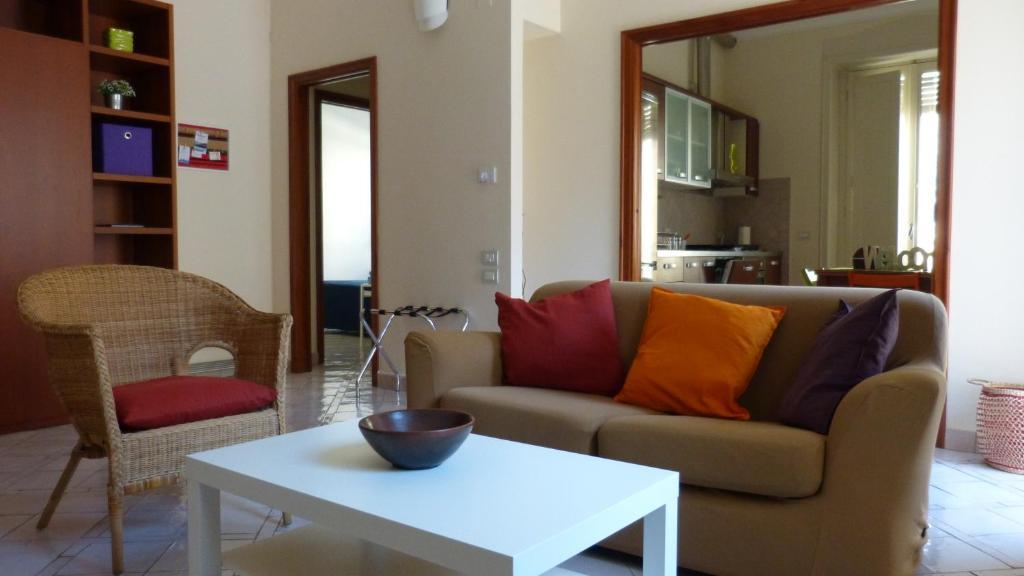 Area soggiorno di Dimora In Centro