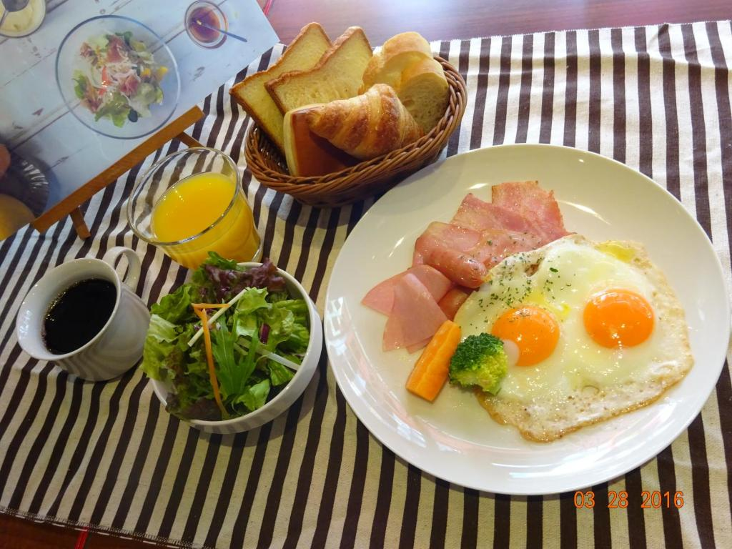 Breakfast options available to guests at Fraser Residence Nankai Osaka