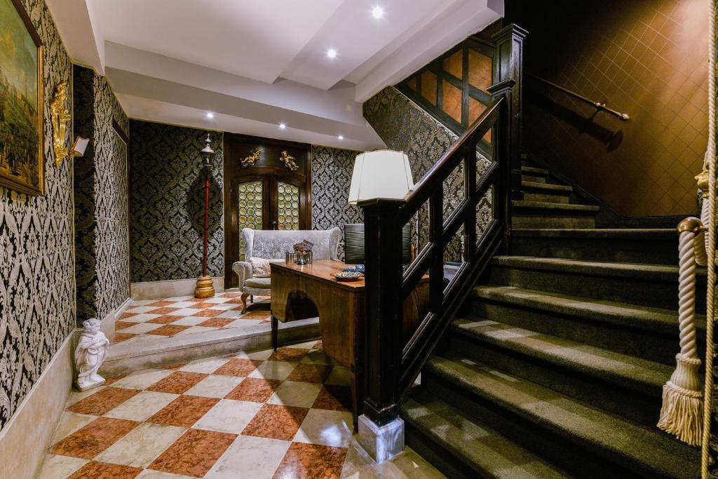 The lobby or reception area at Ai Cherubini