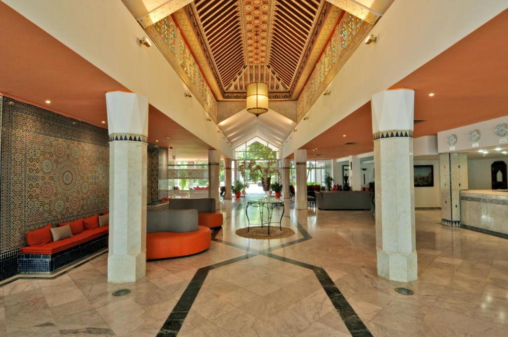 Hall ou réception de l'établissement Hôtel Volubilis