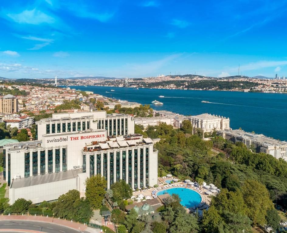 A bird's-eye view of Swissotel The Bosphorus Istanbul