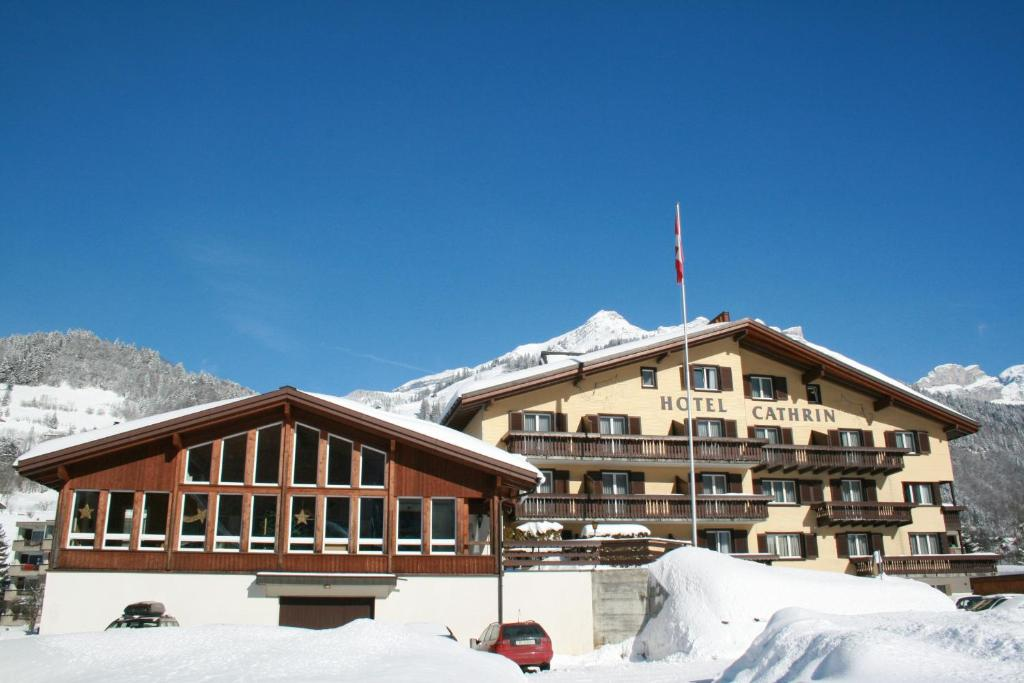 Hotel Cathrin during the winter