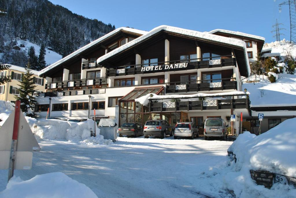 Hotel Daneu im Winter