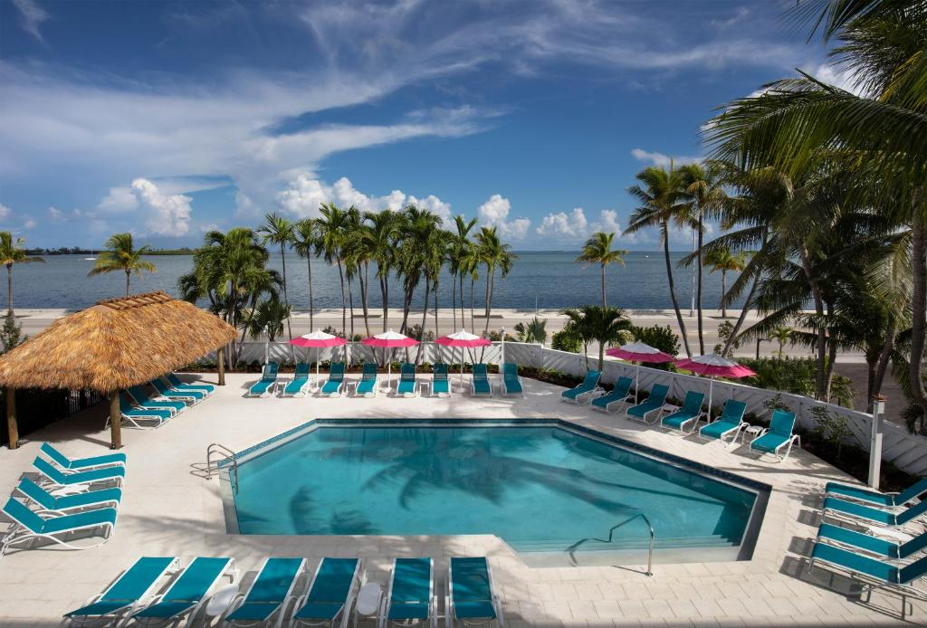A view of the pool at The Laureate Key West or nearby