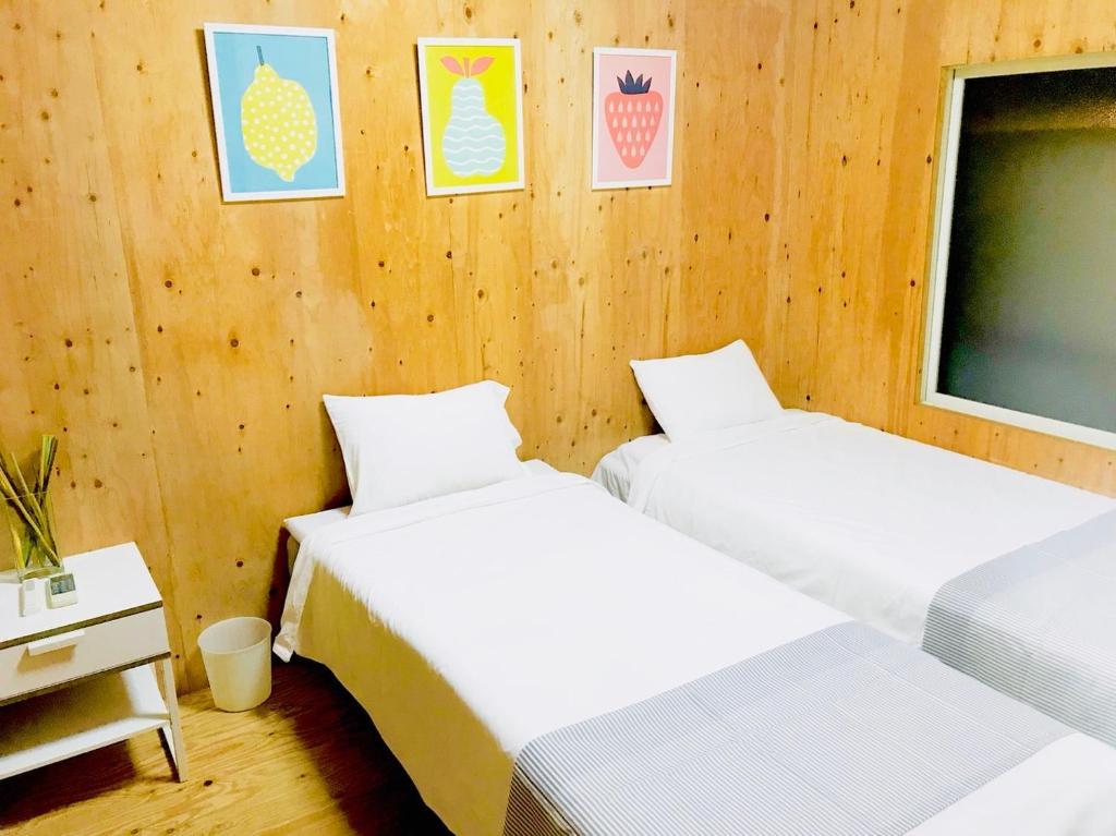 United Resort Tanimachi 6にあるベッド