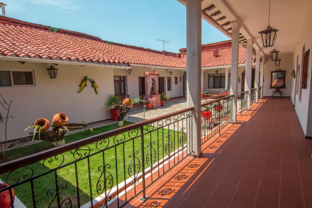 Un balcón o terraza de La casona del Centro