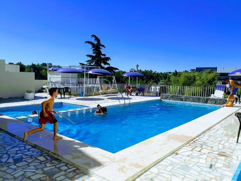 The swimming pool at or near Gran Hotel España