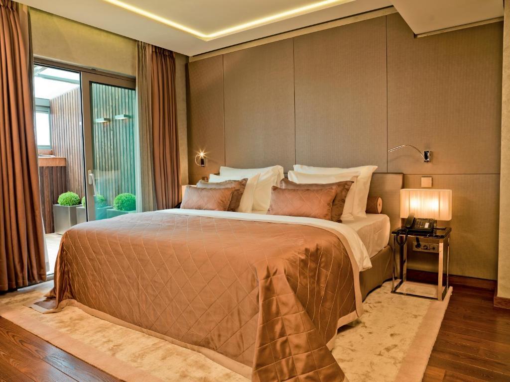 Lova arba lovos apgyvendinimo įstaigoje Lasagrada Hotel Istanbul