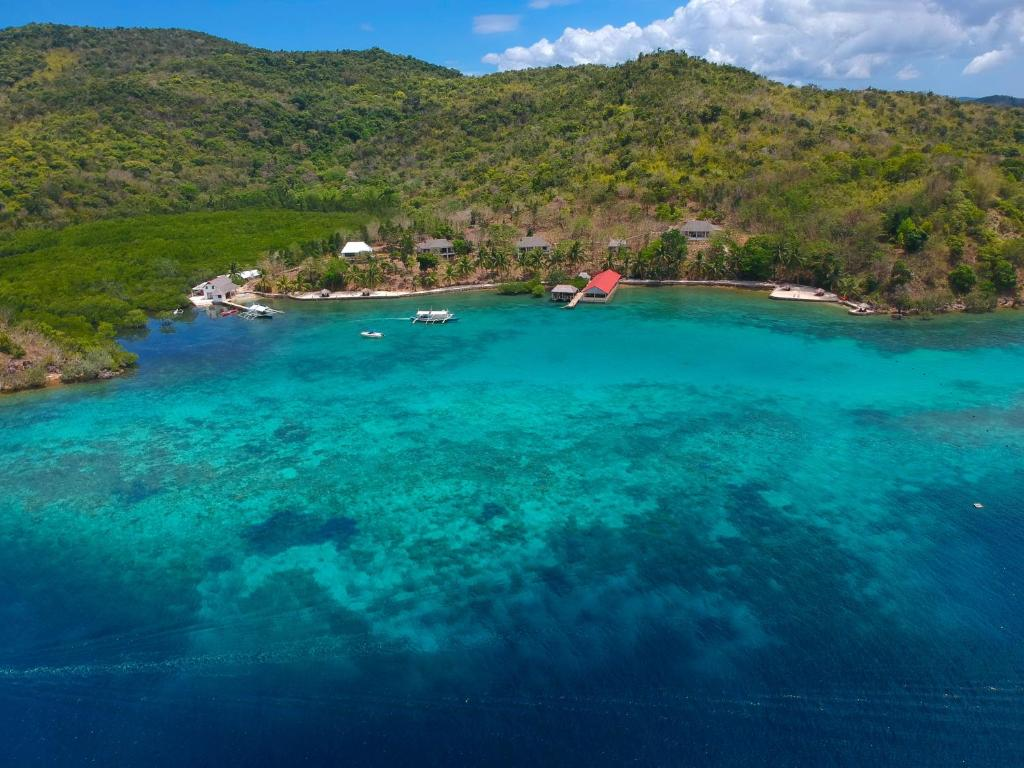 A bird's-eye view of Chindonan Dive Resort