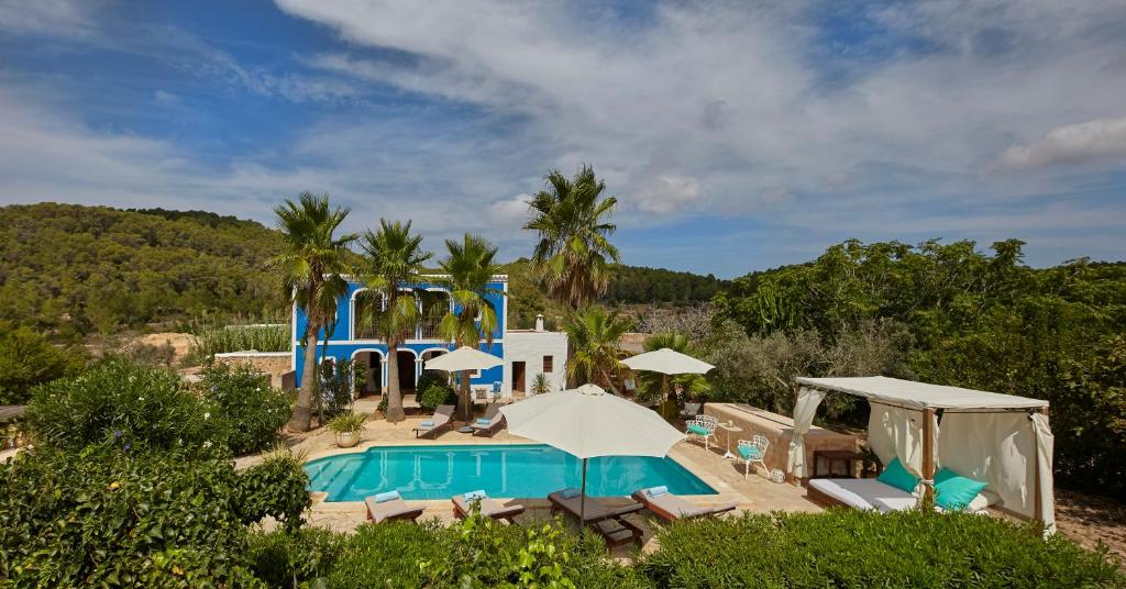 A view of the pool at Villa Can Coves or nearby