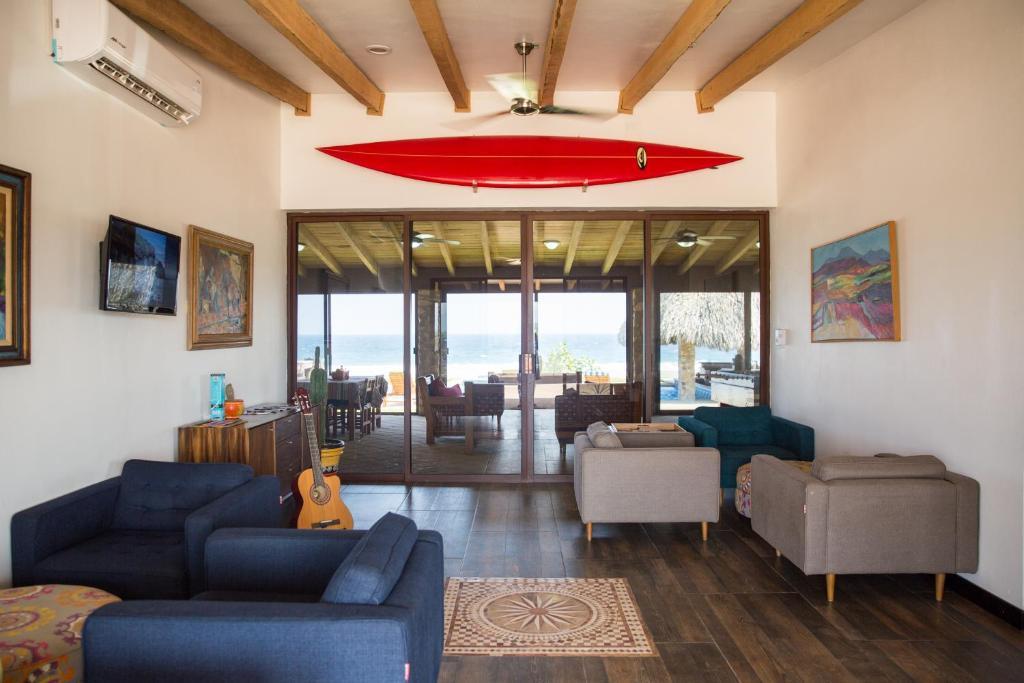 Zona de estar de Punta Conejo Resort