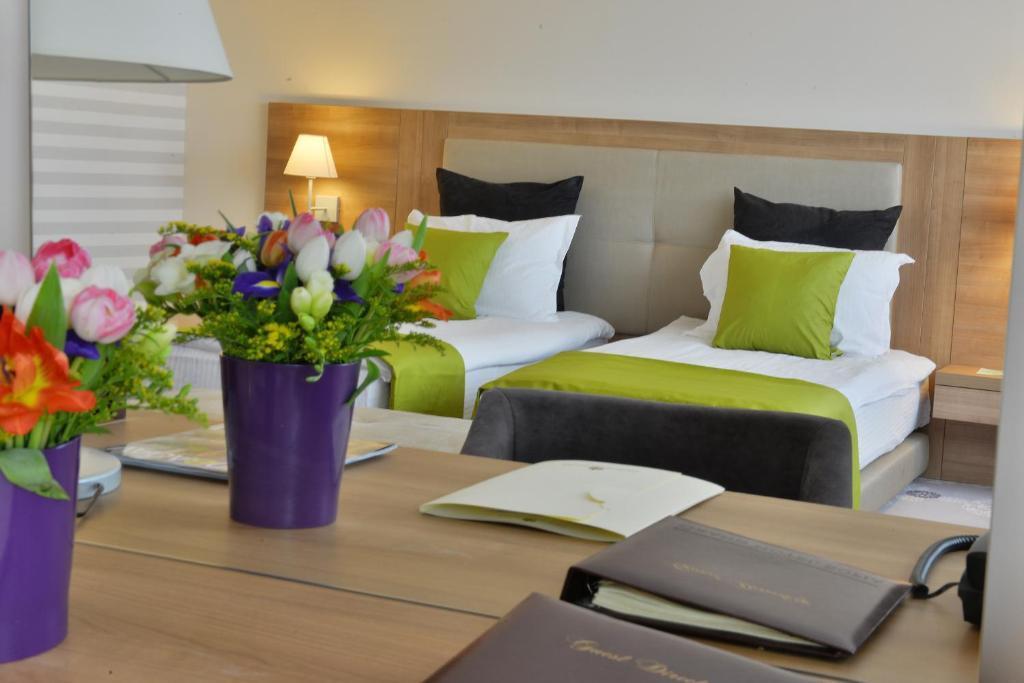 Cama o camas de una habitación en Suite Hotel Sofia