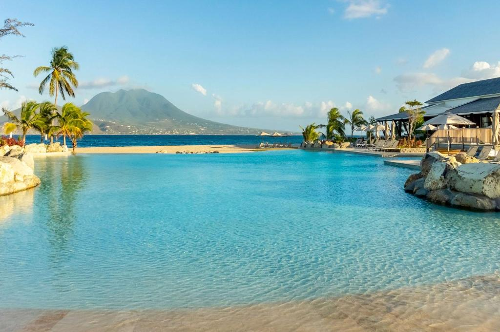 The swimming pool at or near Park Hyatt St. Kitts