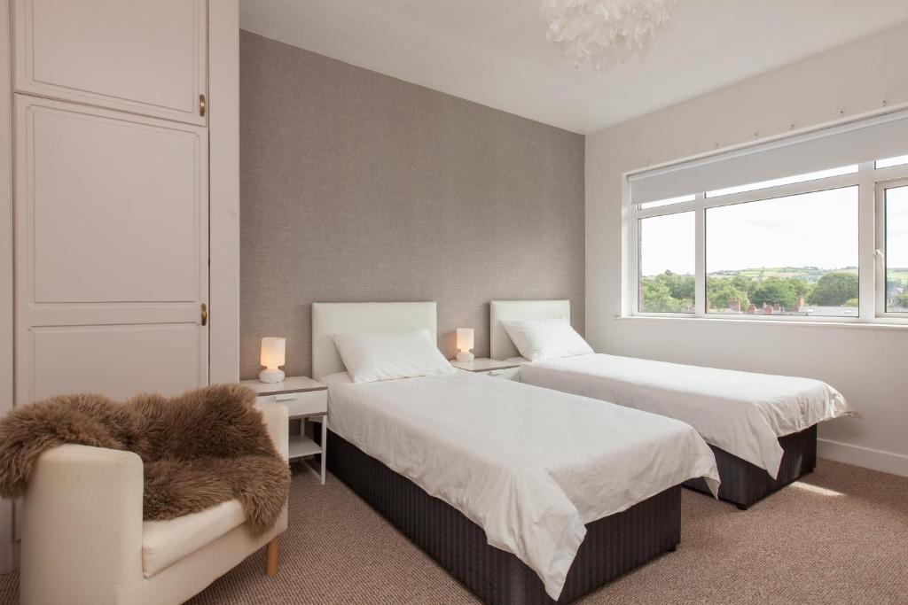 Cama o camas de una habitación en Knockhill Court