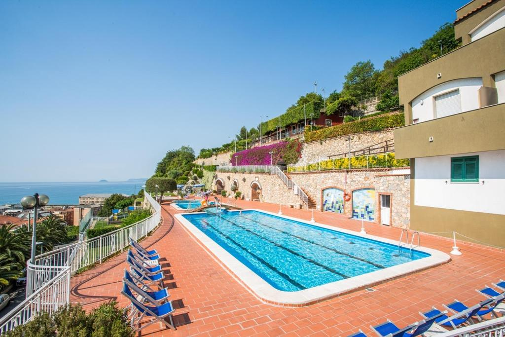 The swimming pool at or near Residence Sant'Anna