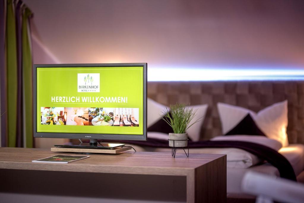 TV/Unterhaltungsangebot in der Unterkunft Hotel-Restaurant Birkenhof