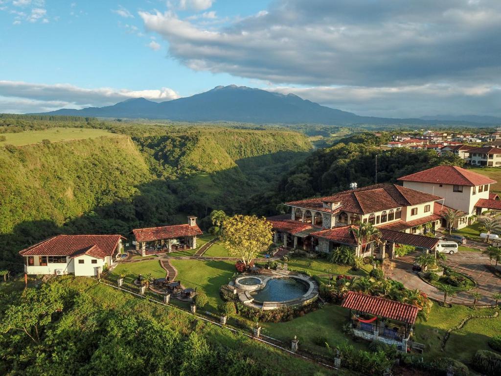 A bird's-eye view of Hacienda Los Molinos Boutique Hotel