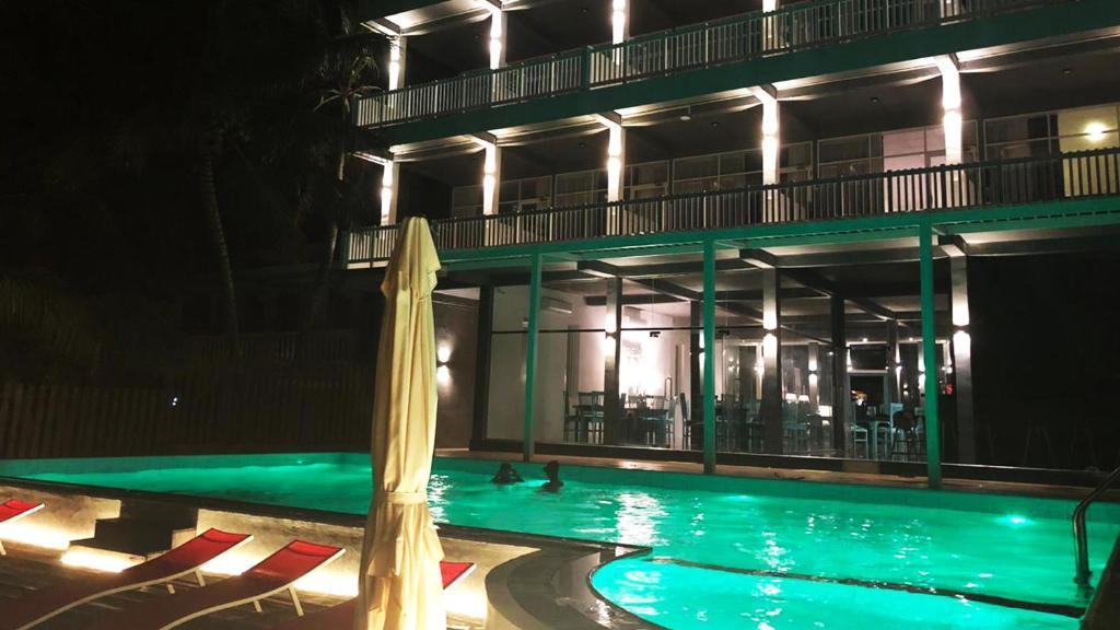 The swimming pool at or near Beach Mirissa