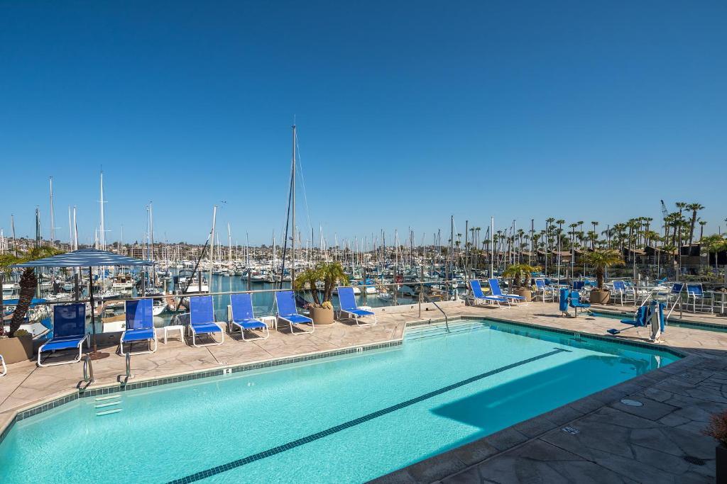 The swimming pool at or near Bay Club Hotel and Marina