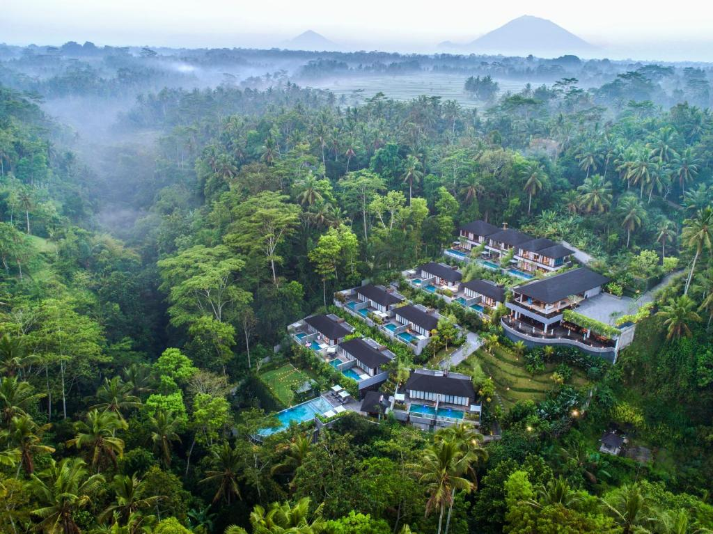 A bird's-eye view of Samsara Ubud