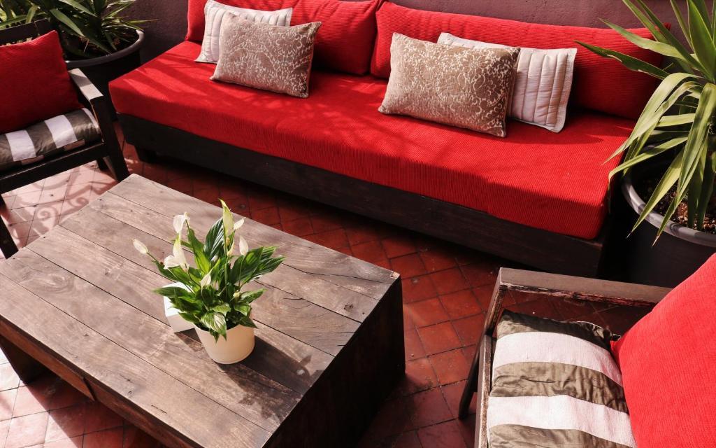 Area soggiorno di Boqueria Center Room Bcn