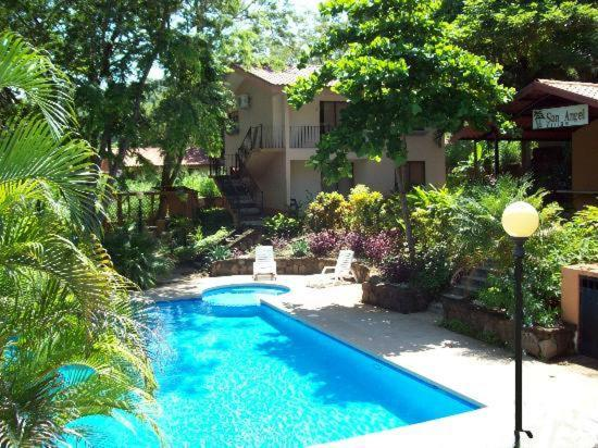 The swimming pool at or near Villas San Angel