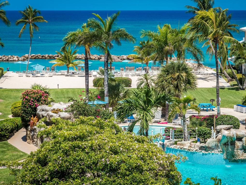 A view of the pool at Margaritaville Beach Resort Grand Cayman or nearby