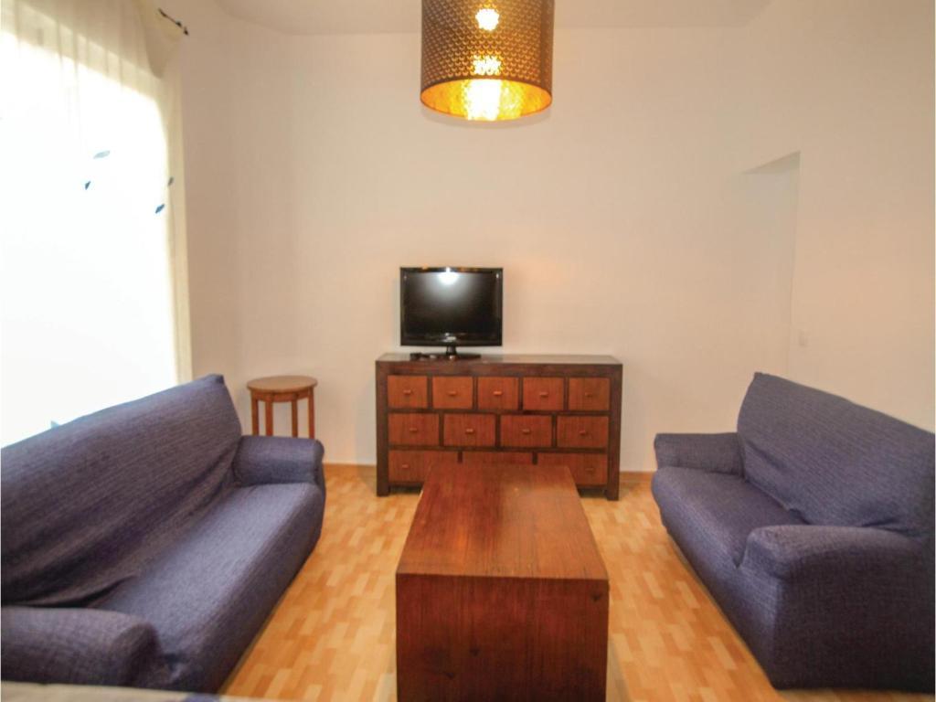 Zona de estar de Four-Bedroom Apartment in Cartagena