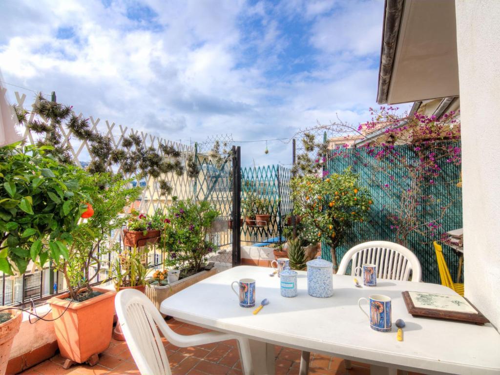 A balcony or terrace at Apartment villa Piron