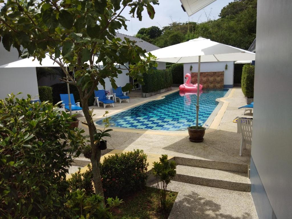 The swimming pool at or near La Maison Ya Nui Resort Phuket